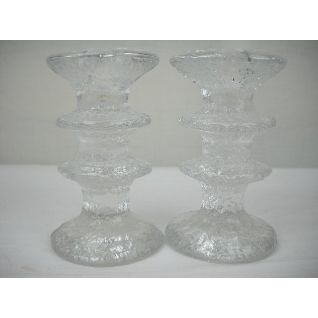 1960s Timo Sarpaneva Candle Holders - A Pair For Sale - Image 5 of 8