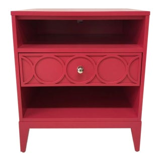 Century Furniture Single Drawer Small Nightstand For Sale