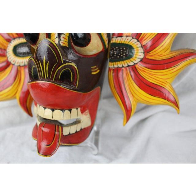 Asian Vintage Asian Dragon Mask For Sale - Image 3 of 8
