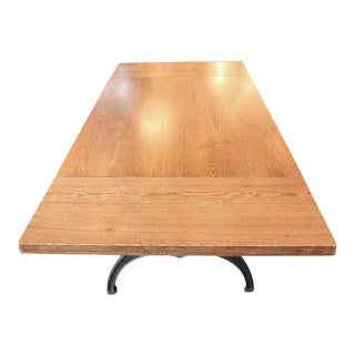Oak Table With Brooklyn Legs