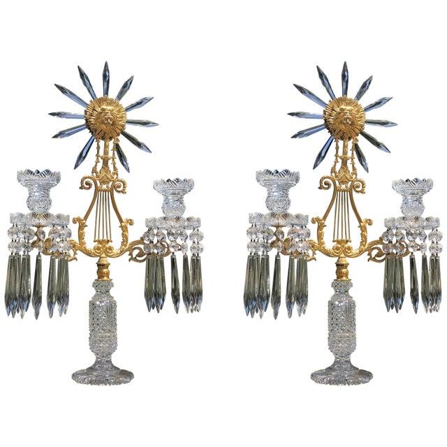 Pair of Regency Candelabra For Sale - Image 11 of 11