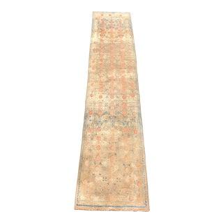 "1940s Persian Tabriz Wool Runner - 2'9""x13'3"" For Sale"
