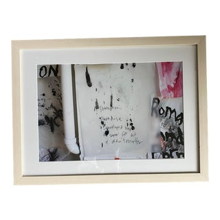 Contemporary Kim Gordon Sonic Youth Print, Framed For Sale
