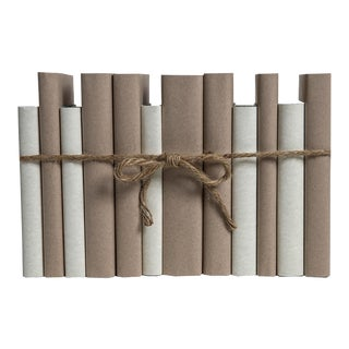 Modern Khaki & Ivory ColorPak : Decorative Books Wrapped in Parchment