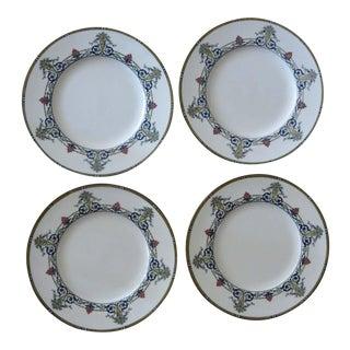 Vintage Royal Worcester Doncaster Dinner Plates - Set of 4 For Sale