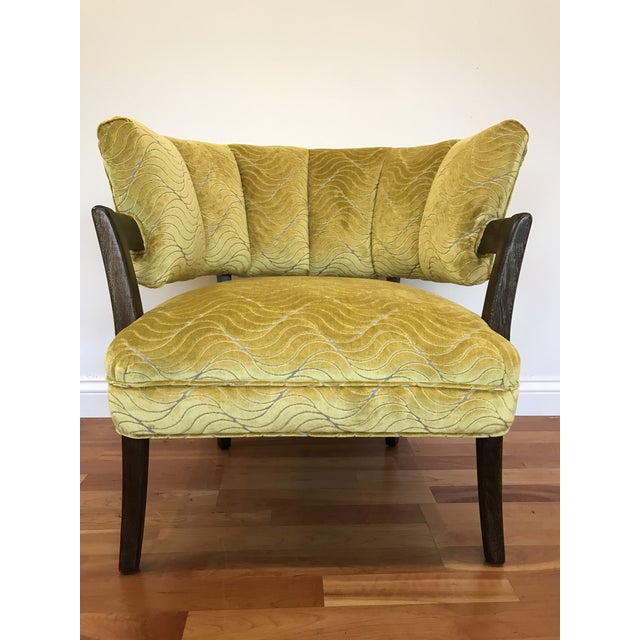 1940s Vintage Billy Haines Era Channel Back Chair For Sale - Image 12 of 12