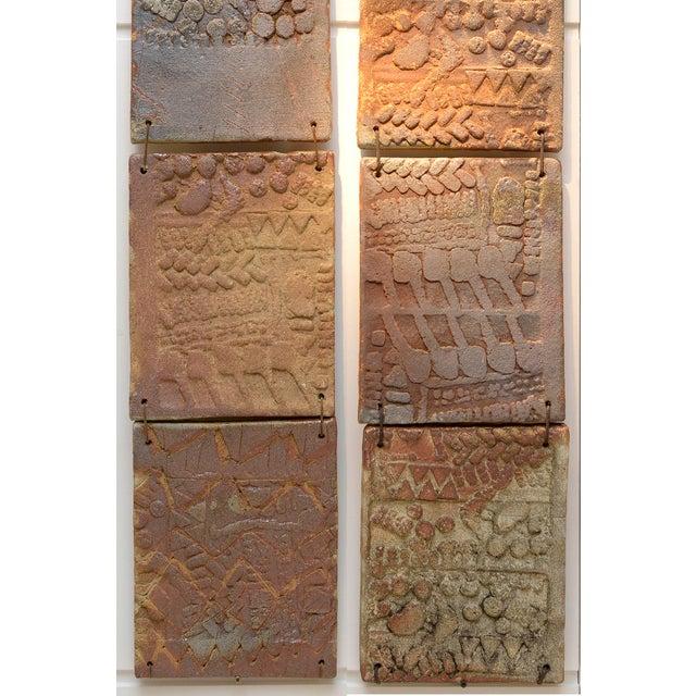 "Mid-Century Modern 1970s Stoneware ""La Borne"" Wall Decoration For Sale - Image 3 of 8"