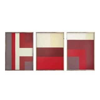 Ron Burgundy Triptych 18x24