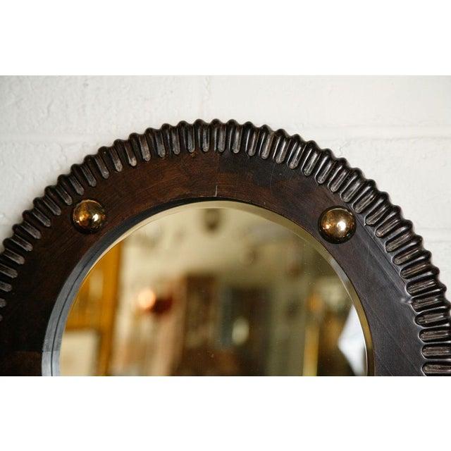 Paul Marra Gear Style Mirror - Image 3 of 8