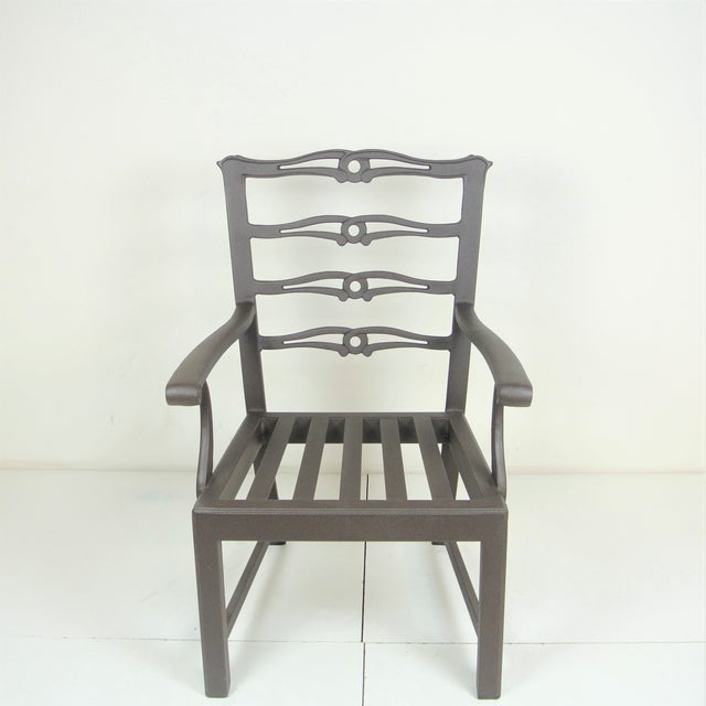 Contemporary Arlington Dining Chair & Custom Fit Cushion For Sale - Image 3 of 9