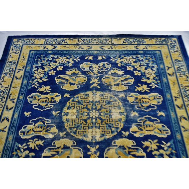 "Traditional Art Deco Chinese Rug - 7' 7"" X 7' - Image 4 of 11"