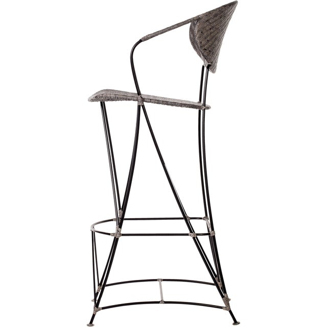 Contemporary David Francis Indoor Zen Barstools - Set of 3 For Sale - Image 3 of 6