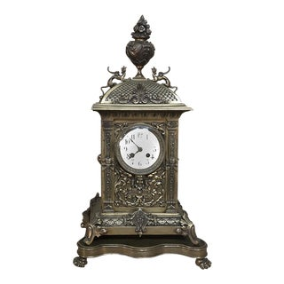 19th Century French Louis XVI Mantel Clock For Sale