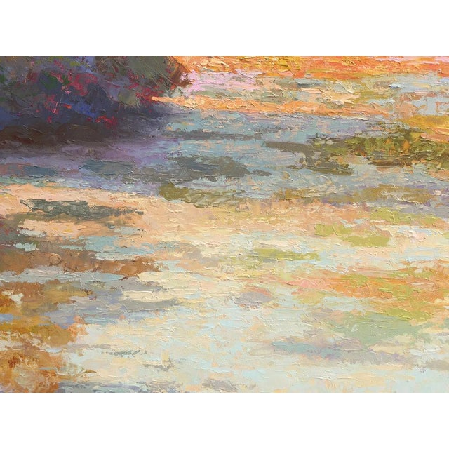 2010s Rob Longley, Autumn Afternoon, Beech Forest Pond, 2013 For Sale - Image 5 of 8