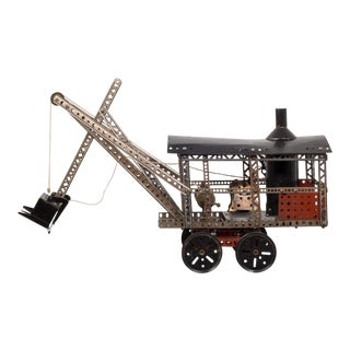 Erector Set TruModel Steam Shovel #77 Circa 1928 For Sale
