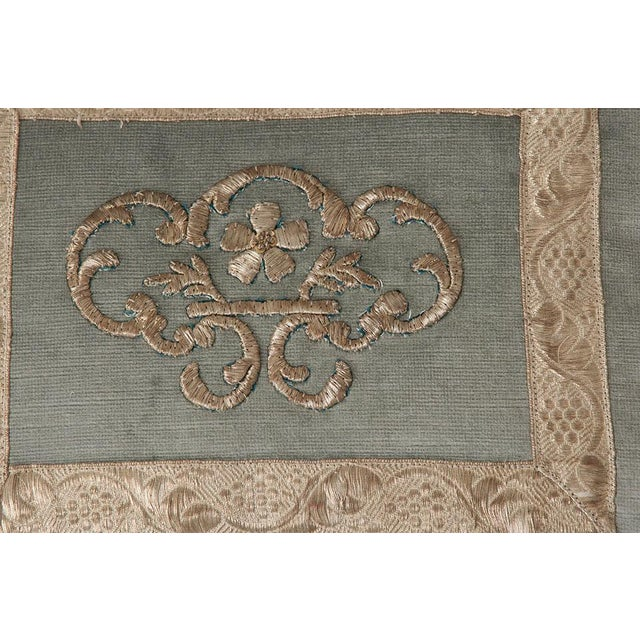 Antique Textile Pillow By B.Viz Designs - Image 7 of 8