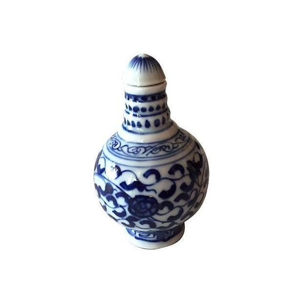 Chinese Blue & White Porcelain Bottles - Set of 3 - Image 5 of 5