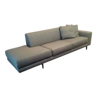 """Dellarobbia Mid-Century Modern Contemporary """"Monti"""" Sofa"""