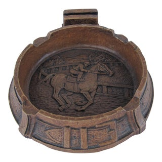Vintage Jockey Ashtray