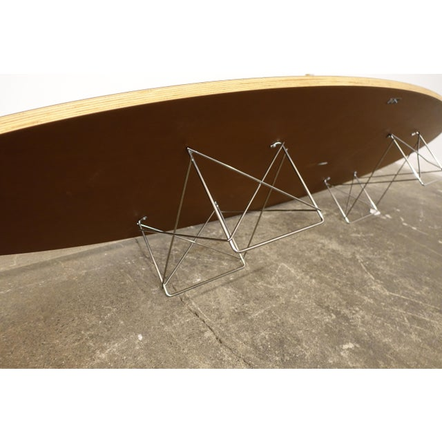 Wood Mid-Century Modern Eames Surfboard Coffee Table For Sale - Image 7 of 10
