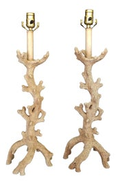 Image of Tan Table Lamps
