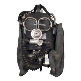 Miner's Oxygen Mask/Original Case C.1960 For Sale