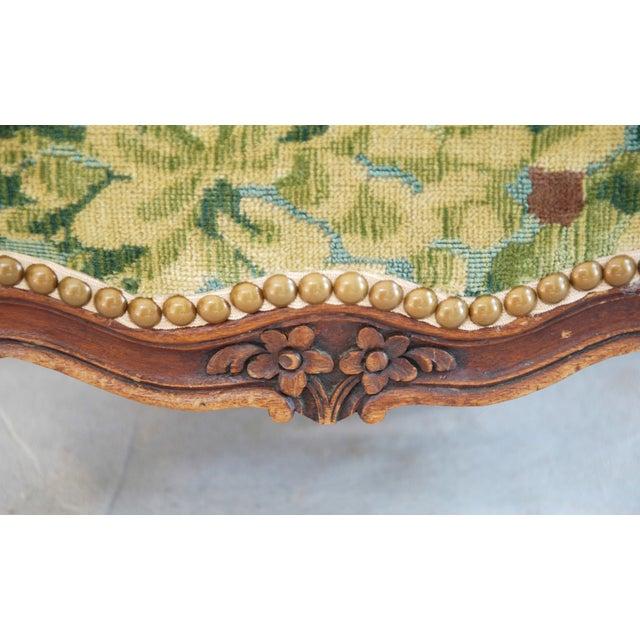 Vintage Italian Scalamandre Fabric Footstool - Image 8 of 10