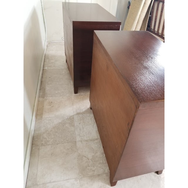1940s Pair of Modern Chest of Drawers For Sale - Image 5 of 13