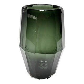 Green Hermes Murano Vase For Sale