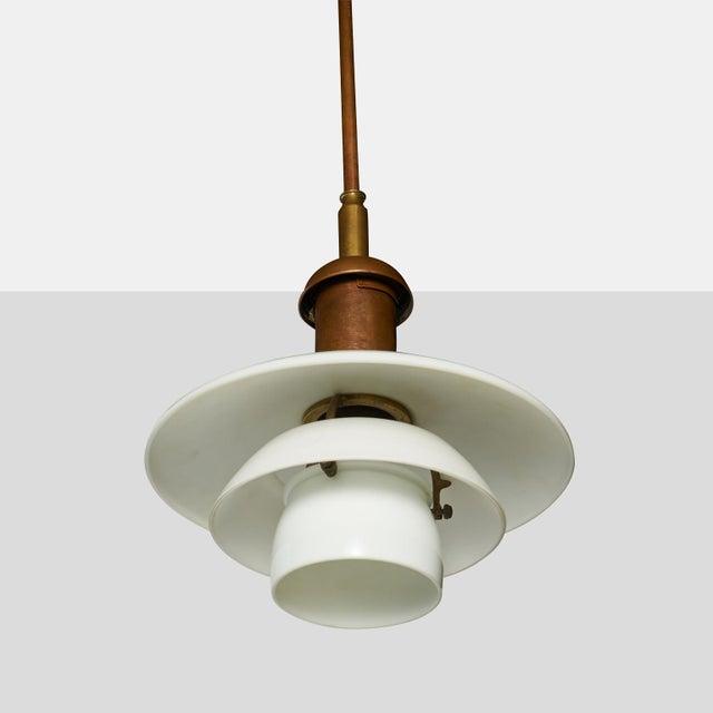 Louis Poulsen Copper Pendant by Poul Henningsen For Sale - Image 4 of 7