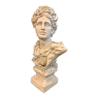 Greek Classical Bust With Shells For Sale