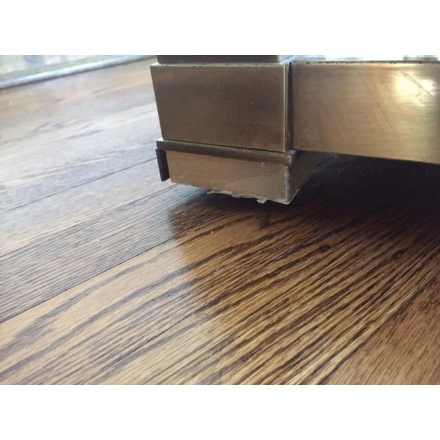 Mastercraft Brass Console Table - Image 7 of 8