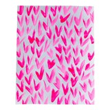 Image of Contemporary Pink and White Pattern Painting For Sale