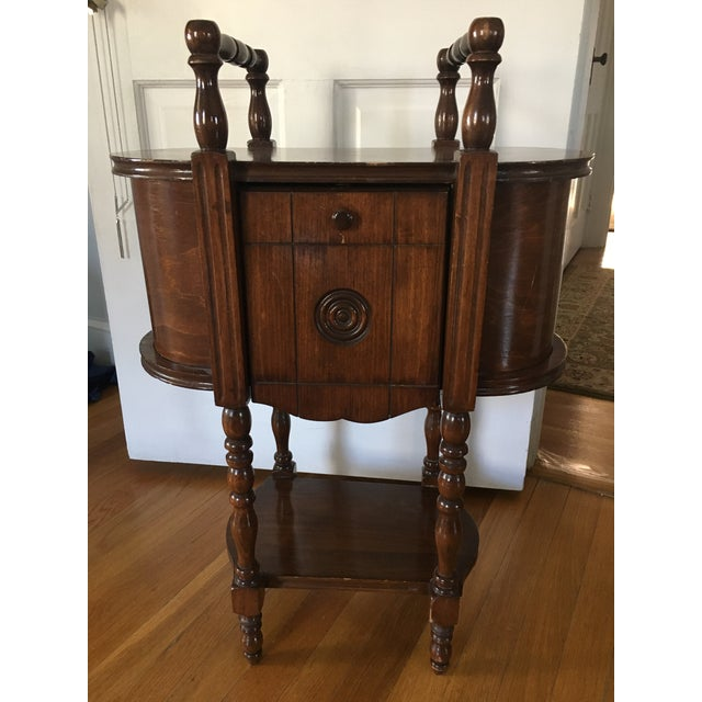 This smoking stand belonged to my great grandfather. It was gently used as he didn't smoke! The piece has been in my...