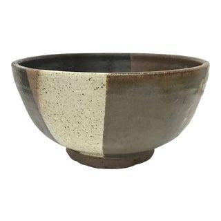 1970s Boho Chic Studio Ceramic Bowl