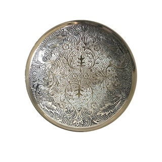 Vintage Silver Soap Dish - India For Sale
