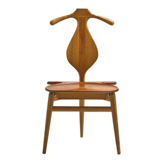 Hans Wegner for Johannes Hansen Valet Chair For Sale