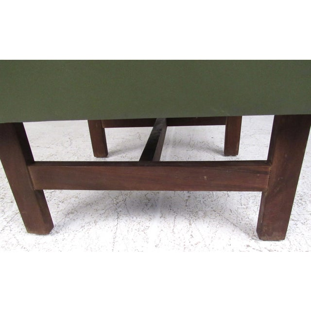 Wood Pair Mid-Century Modern Club Chairs For Sale - Image 7 of 11
