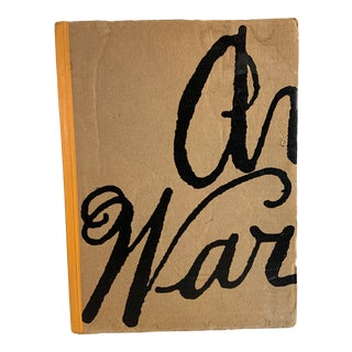 1988 Pre-Pop Warhol Collector Book For Sale