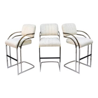 Set of Vintage Modern Bar Stools by Daystrom- Set of Three For Sale