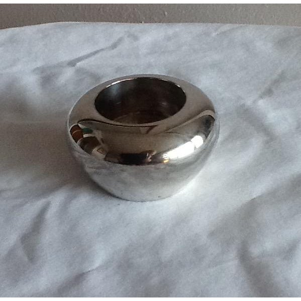 Vintage Silver Plate Tealight Candle Holder - Image 3 of 5