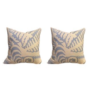 Quadrille Alan Campbell Pillows - a Pair