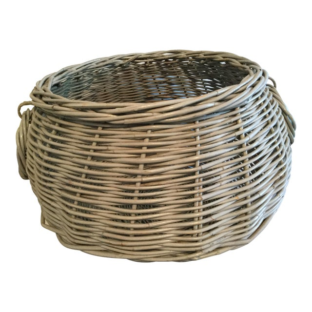 Decorative Basket With Handles For Sale