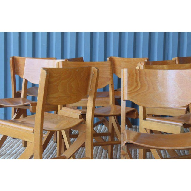 Dining Chairs by Joamin Baumann, France, 1960s For Sale - Image 10 of 13