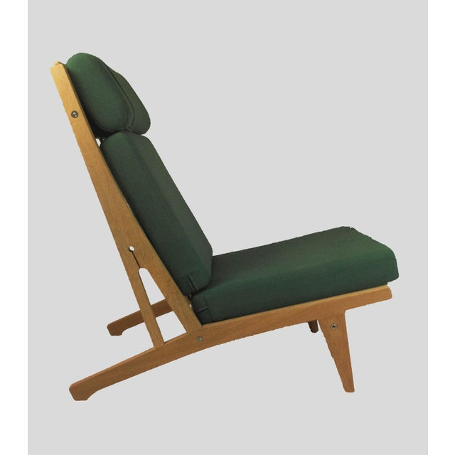GETAMA 1960s Vintage h.j. Wegner Lounge Chairs- A Pair For Sale - Image 4 of 8