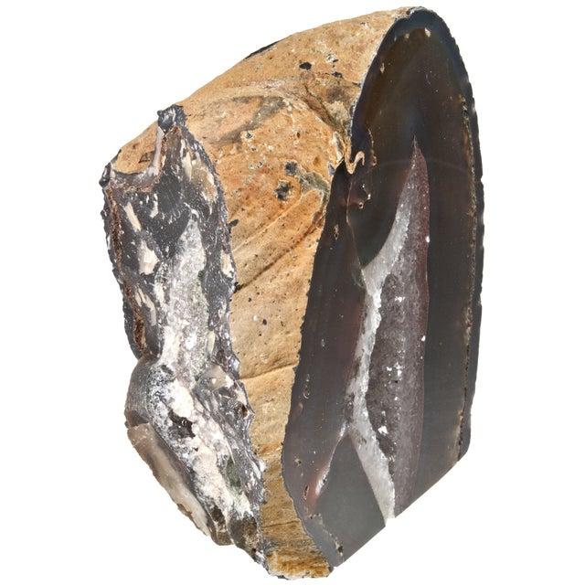 Cut Polished Crystal Geode - Image 4 of 4