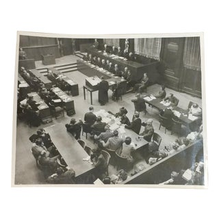 Nuremberg Trial -Original 8x10 photo