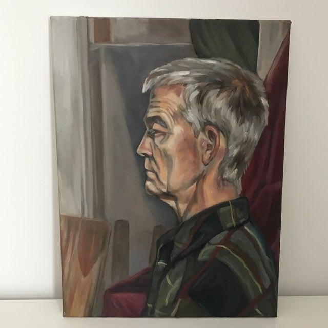 Original Oil Portrait of Man For Sale In Minneapolis - Image 6 of 6