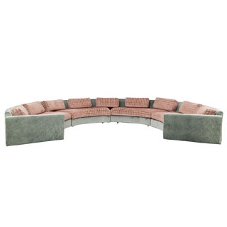 Adrian Pearsall Curved Sectional Sofa For Sale