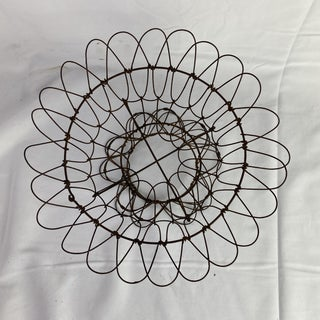 French Collapsible Wire Basket Preview